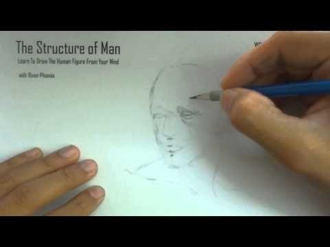 Drawing The Human Head Basics HD01 - YouTube