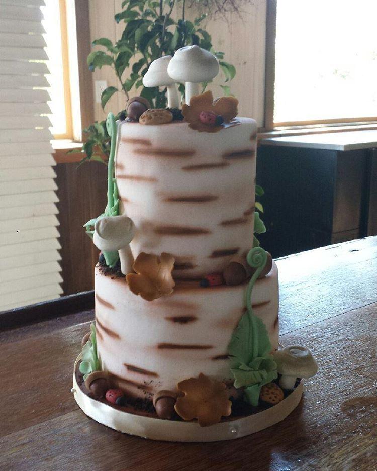 Woodland Wedding Cake Woodland Wedding Cake Create A Cake