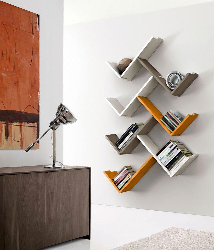 Librerie Piccole Moderne.20 Piccole Librerie Dal Design Moderno Library Mensola A