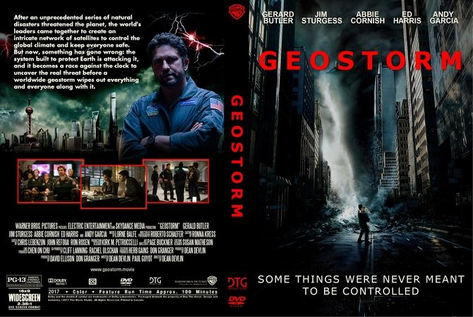 Geostorm 2017 Dvd Custom Cover Dvd Cover Design Custom Dvd Dvd Covers