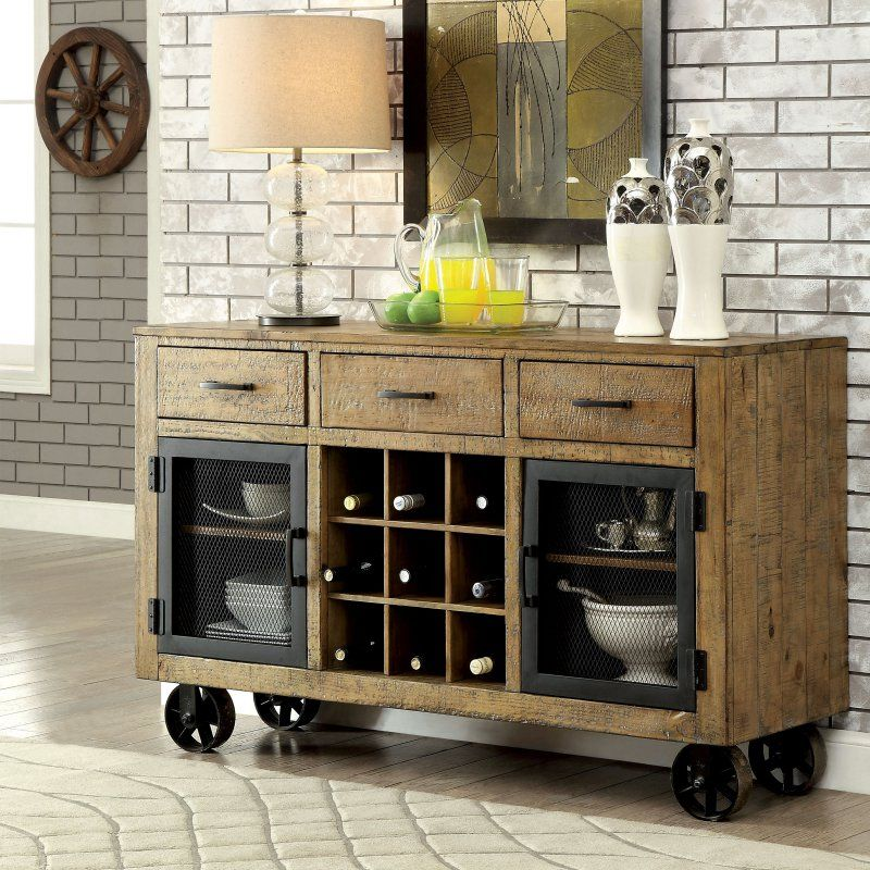 Furniture Of America Camen Dining Server Products In