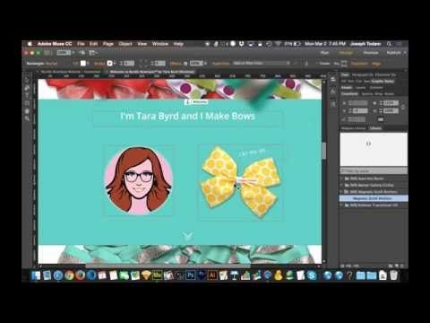 Adobe Muse CC Parallax Scrolling Tutorial | Magnetic Scroll Anchors