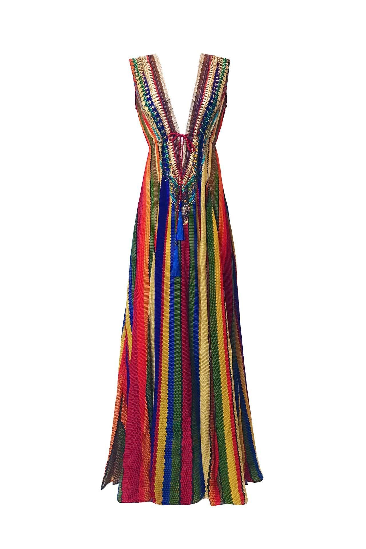 Designer Maxi Dresses Long Dresses Shahida Parides Shahida Parides Rainbow Dress Designer Maxi Dress Dresses [ 1920 x 1280 Pixel ]