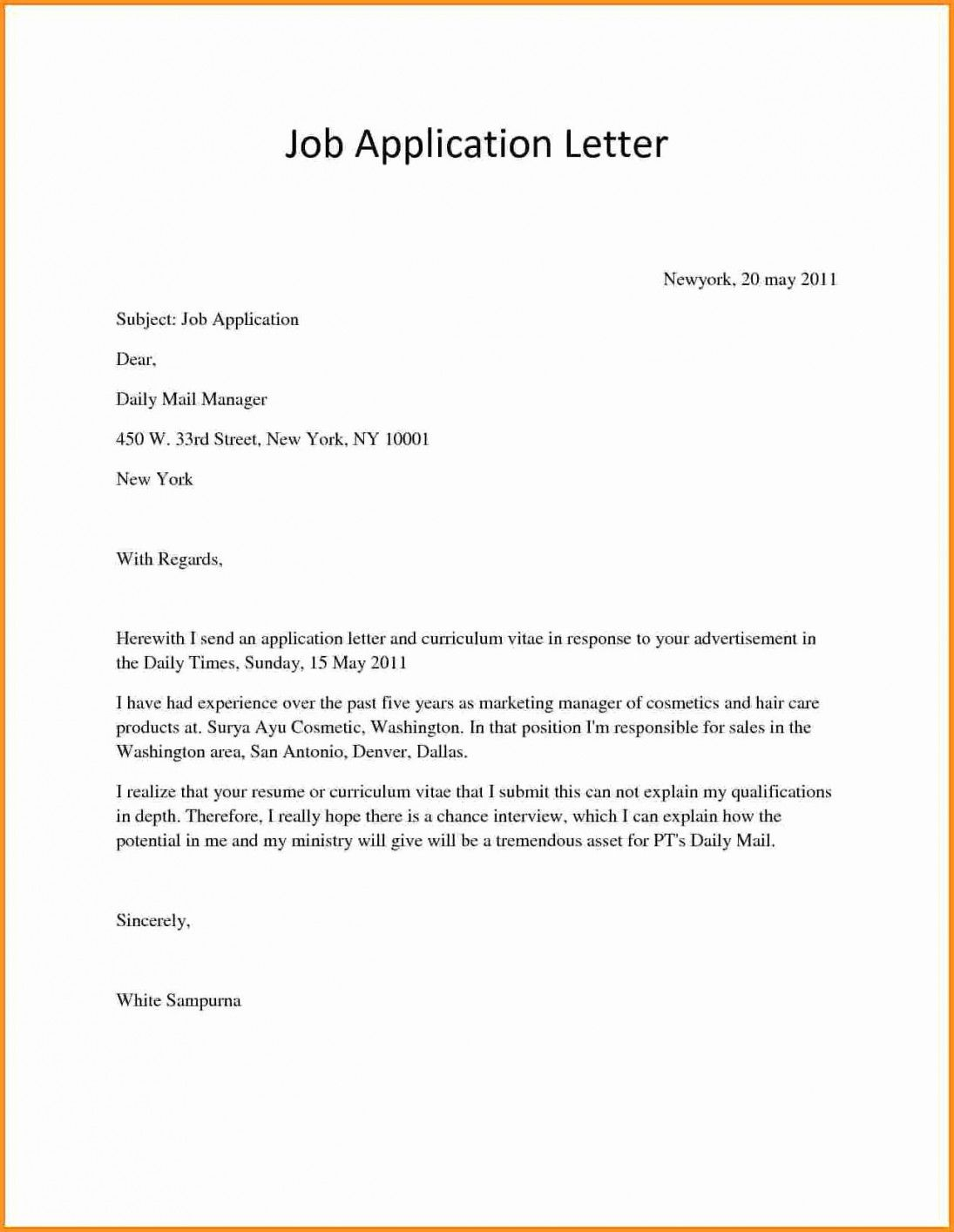Tips Writing A Product Manager Cover Letter