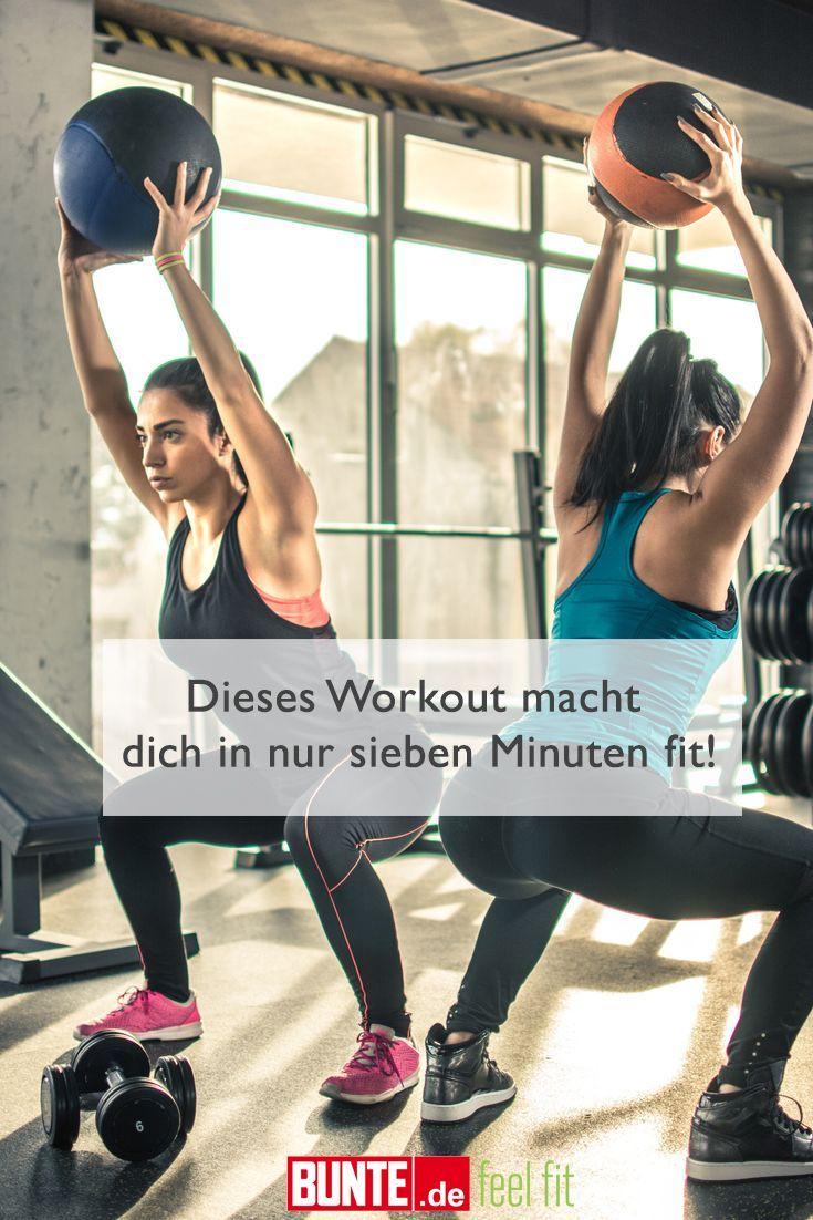 #dich #dieses #fit #für #Leute #macht #Minuten #mit #nur #sieben #Sport #Wenig #Workout #Zeit Let's...