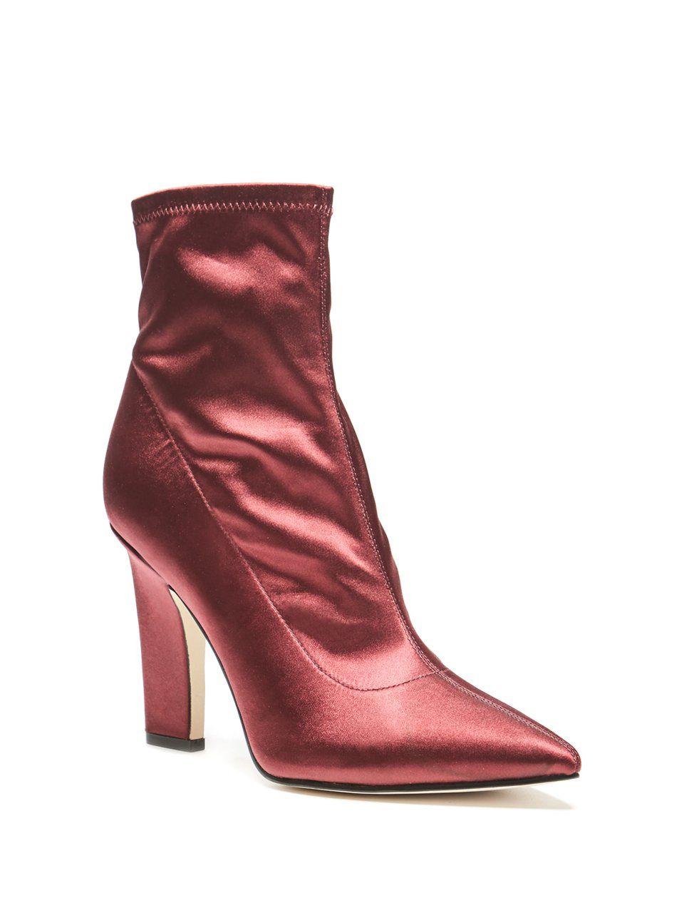 c022c72cfda Item GUESS Women's Aspire Satin Booties | Boots n Booties | Shoes ...