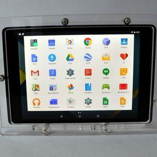 Nexus 9 Acrylic Vesa Security Enclosure For Desktop Or Wall Mount Nexus 9 Display Tablet