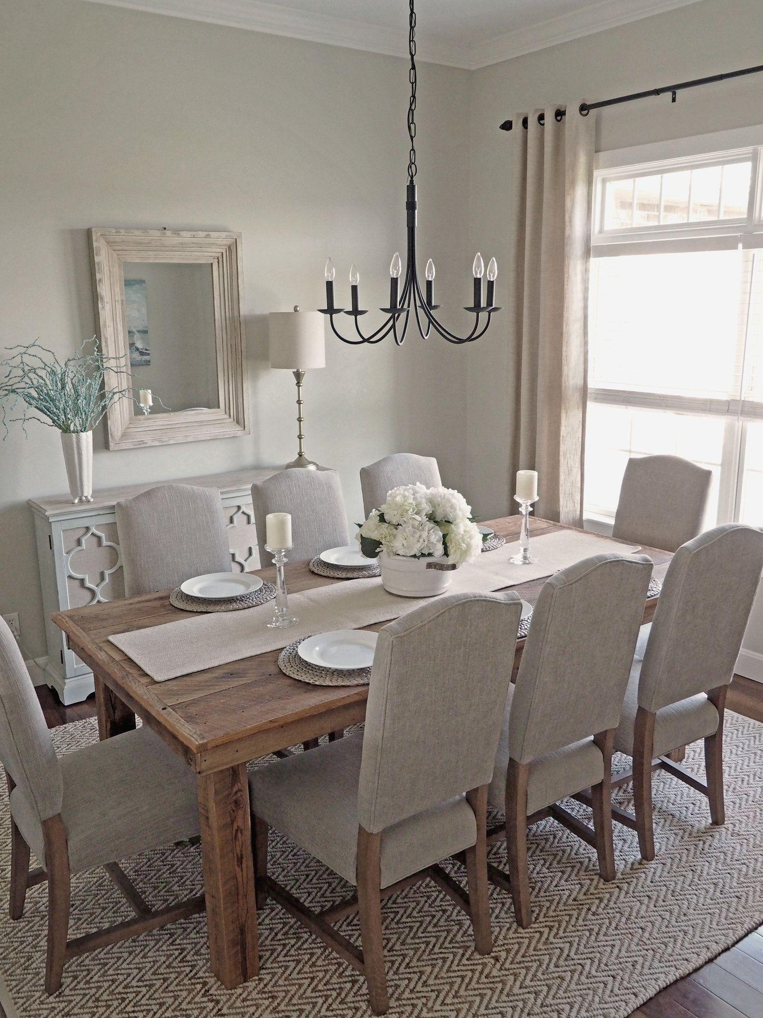 Formal Dining Room Makeover