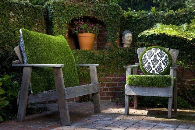 ideen außenräume deko terrasse holz möbel Outdoor decor