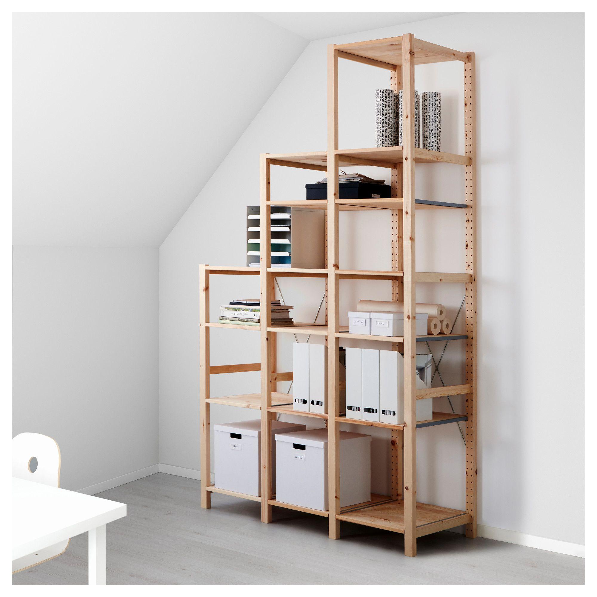 Us Furniture And Home Furnishings Ikea Shelving Unit Ikea Ivar Shelving Unit