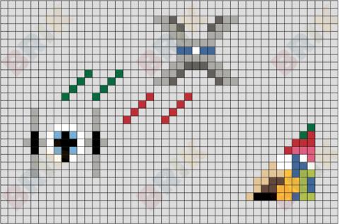 X Wing Pixel Art Pixel Art 8 Bit Art Art