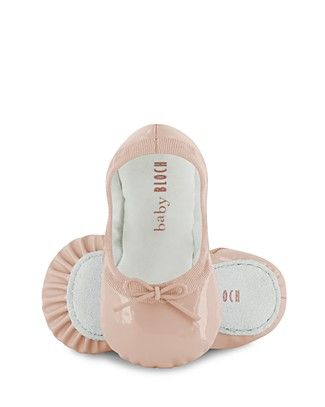 Wee baby ballet shoes. Get outta here