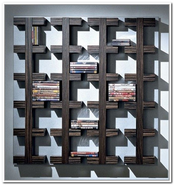 14 Awesome Wall Mounted DVD Storage Units Digital Photo Ideas & ? 20+ Creative DVD Storage Ideas With C?nv?nt??n?l St?l?? (DIY ...