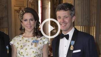 Kronprinsesse Mary til årets fest