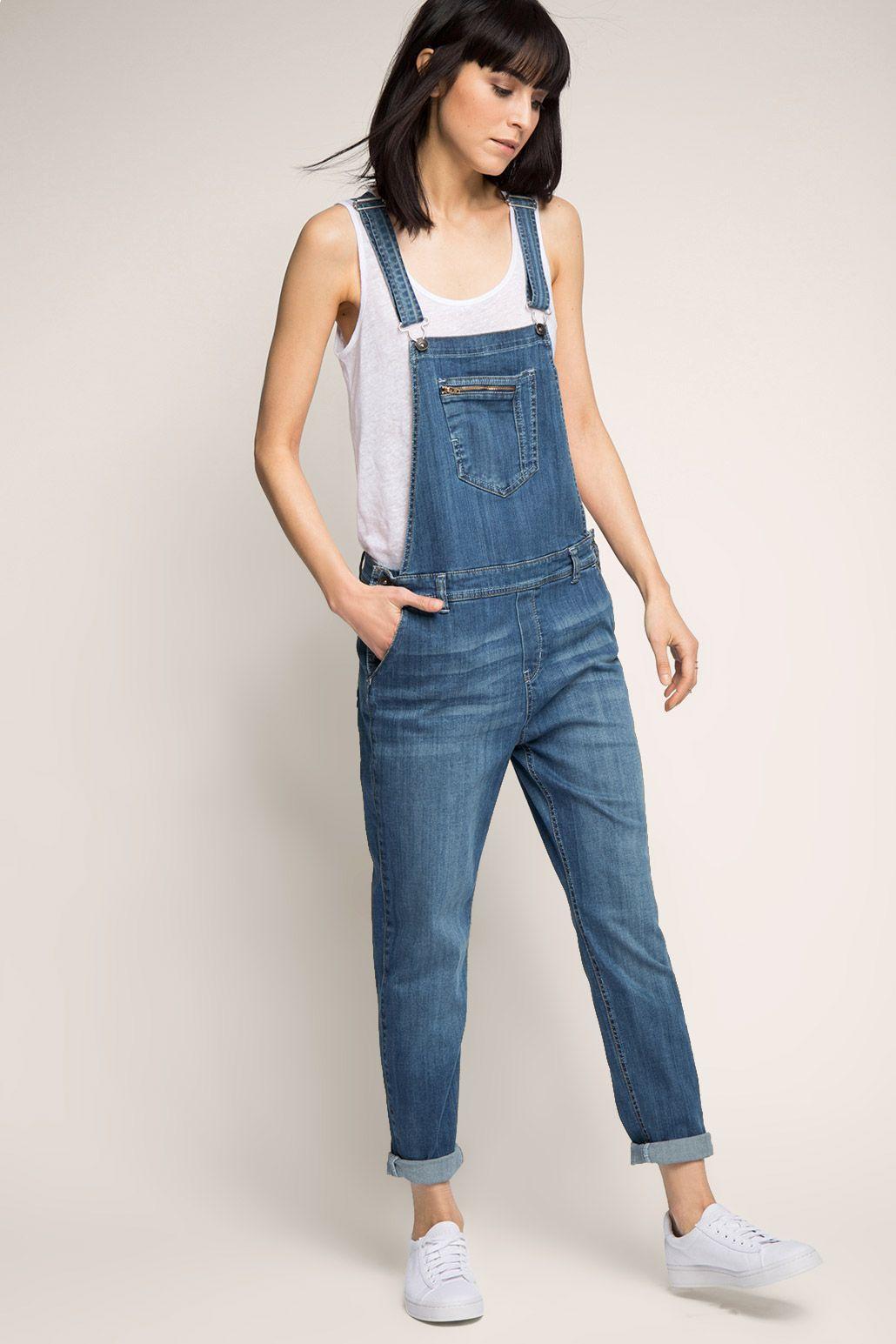 Jeans overall fur damen