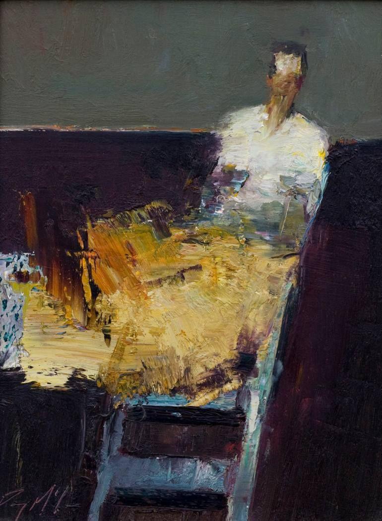 Orange Dress - by Danny McCaw (1978), USA