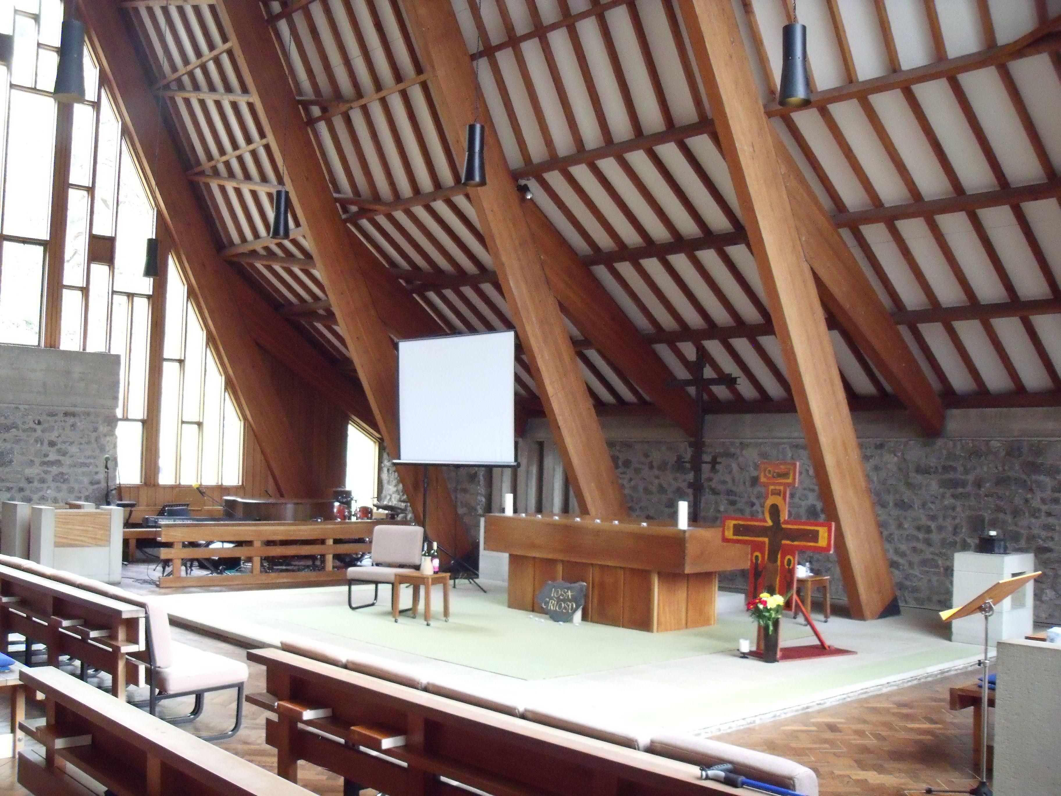 Scargill Chapel Amazing Space Creaks Like A Ship When It S Windy Amazing Spaces Space Chapel