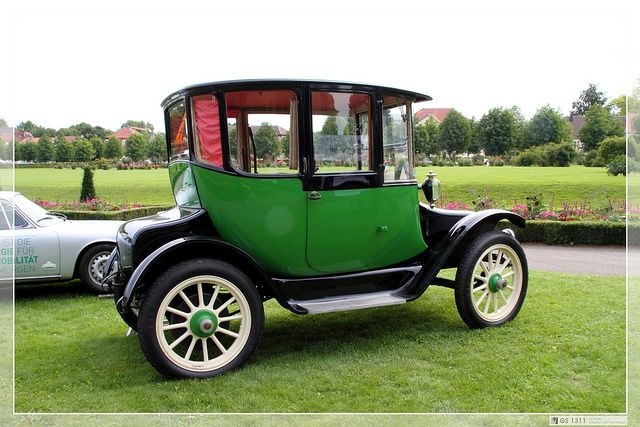 1907 Detroit Electric Model D 02 Vintage Cars Electric Cars