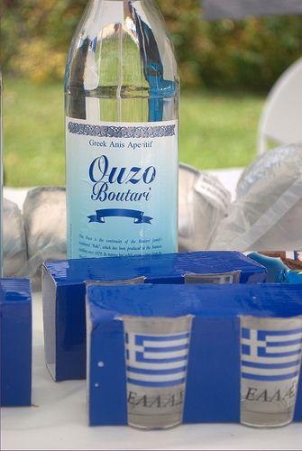 Blue Ouzo Grecia Salonica Bebidas Espirituosas