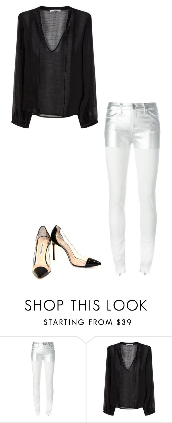 """Untitled #608"" by lizzyoffrance ❤ liked on Polyvore featuring Alyx, MANGO and Manolo Blahnik"