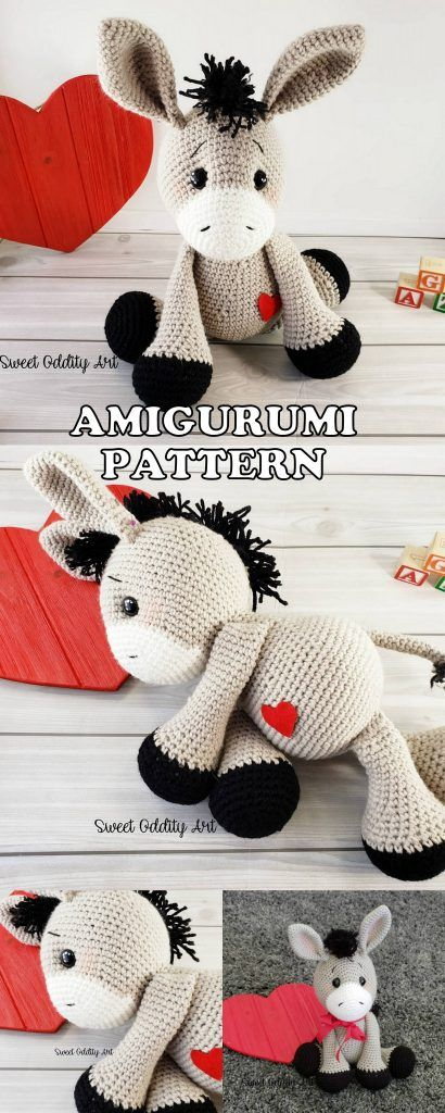 20 Best Amigurumi Animal Elephant Bear Dog Turtle Free And Premium Crochet Patterns - Amigurumi Free Patterns #crochetelephantpattern
