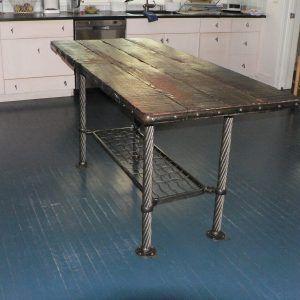 Industrial Kitchen Work Tables Httpnilgostarinfo Pinterest - Industrial kitchen table stainless steel