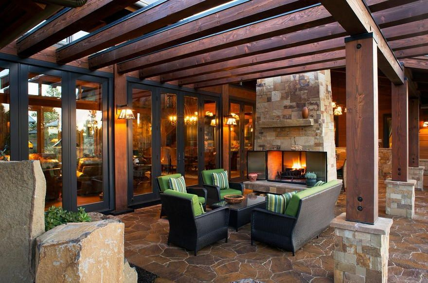 Patios With Adorable Pergola Designs