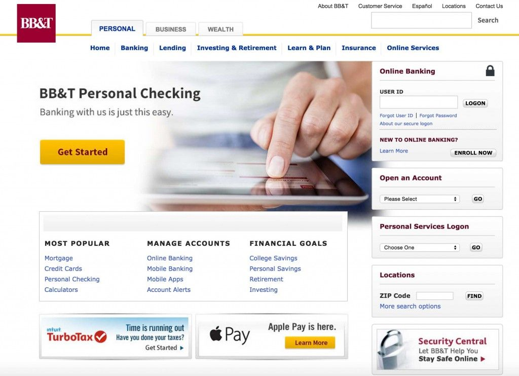 Detailed instructions for BBT login. BB&T is one of the