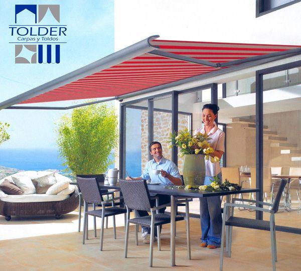 toldo para terraza 4 toldos pinterest terrazas
