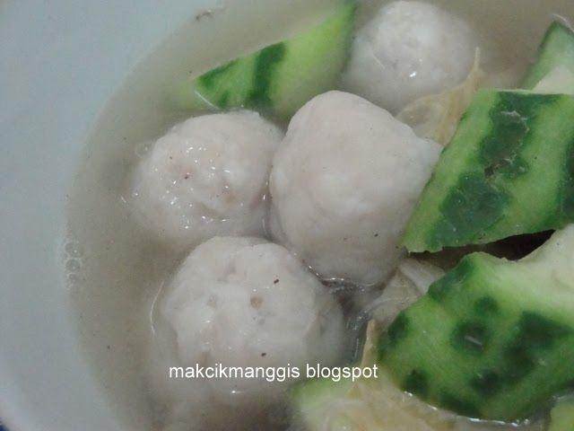 Fishball Homemade Resep Makanan Makanan Ikan