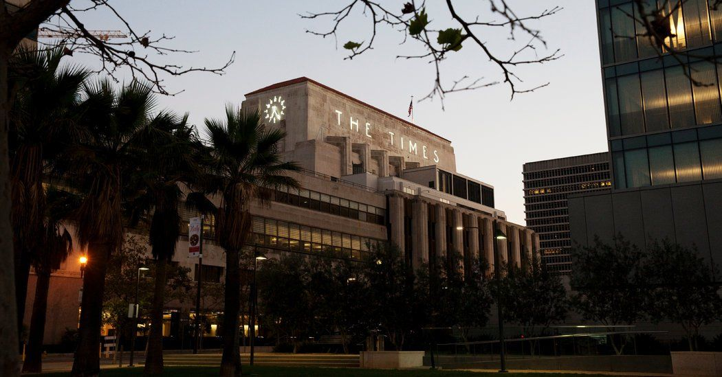 Union Is Formed At Los Angeles Times And Publisher Put On Leave Los Angeles Union California