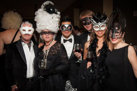 Image result for masquerade black tie party