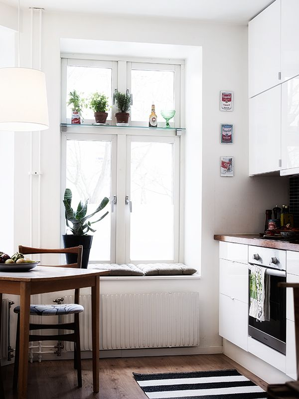Regal über dem Fenster Küche Pinterest Window, Glass shelves