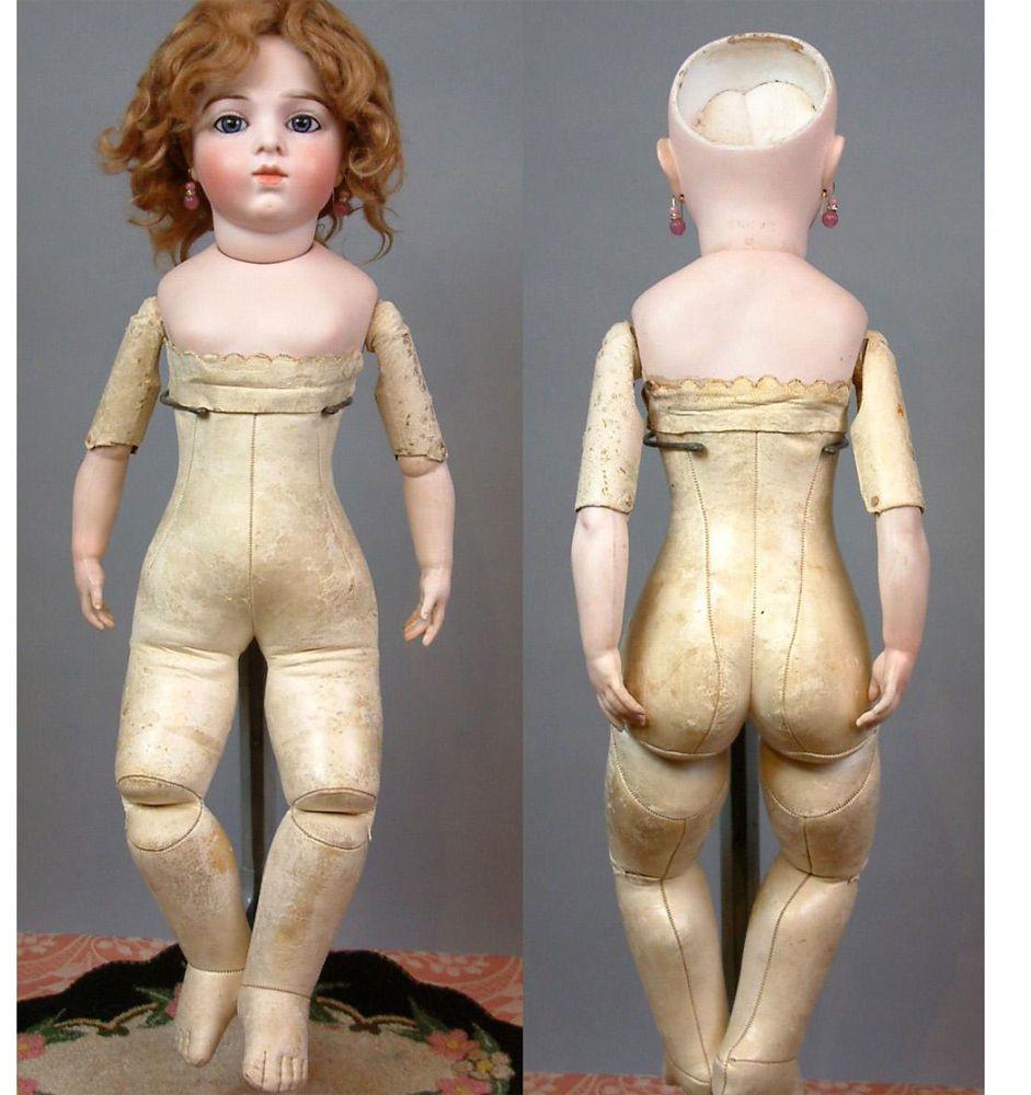 "SUPERB 22.5"" All Original Bru Jeune French Bebe Size 8 Antique Doll ~2 Costumes~ | Dolls & Bears, Dolls, Antique (Pre-1930) | eBay!"