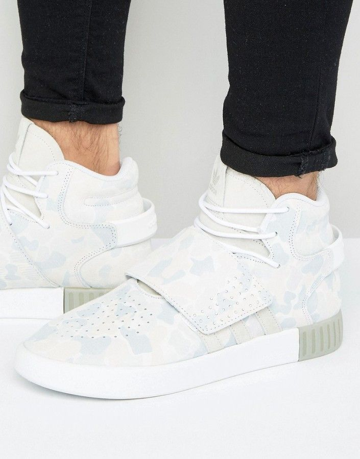 adidas Tubular Invader STR Sneakers In Blanco  BB8394  Blanco Products e67886