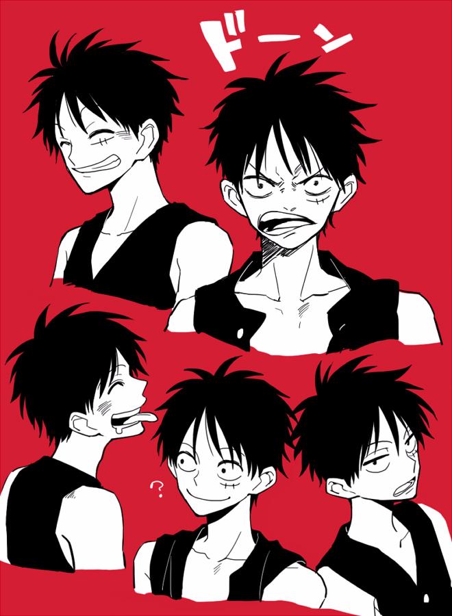 ほやの (mm_goshi) Twitter Luffy, Anime, Manga
