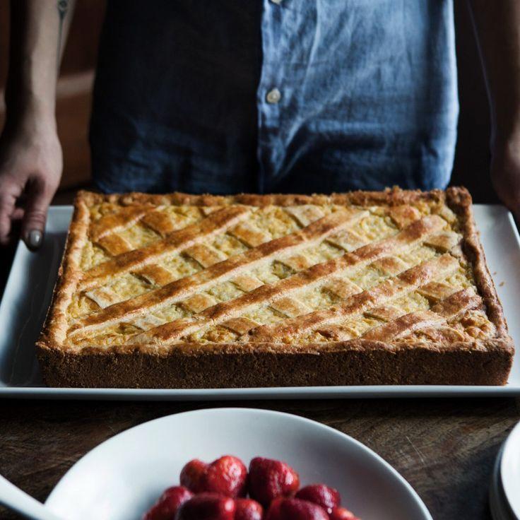 Italian rice pie pastiera di riso recipe with images