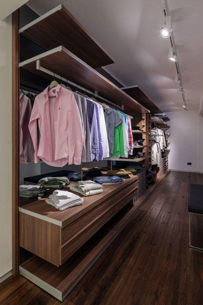 Walk In Closet For Men Masculine Closet Design 8