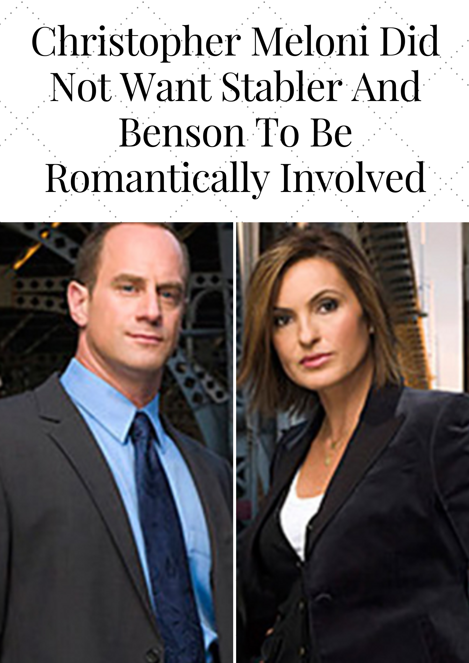 Things You Didn T Know About Law Order Svu Law And Order Law And Order Svu Svu