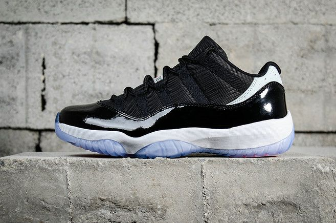 low priced 3038a 6c976 Popular Air Jordan 11 Retro Low Concord 528895-153 Mens Basketball Shoes  Black White