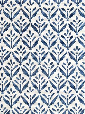 Morrison Cobalt:100% heavy cotton slubby basket print. Perfect for upholstery, drapery, bedding or slipcover fabric. 2.5