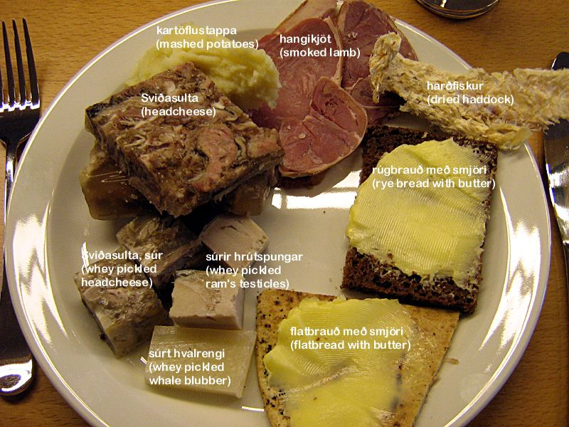 Icelandic cuisine is not for wimps 21