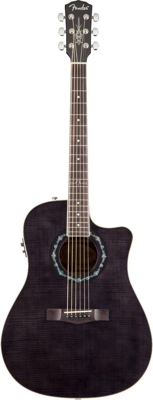 fender t bucket 300ce cutaway acoustic electric guitar flamed maple top mahogany. Black Bedroom Furniture Sets. Home Design Ideas