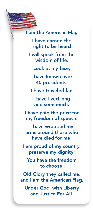 April 2010 Vol 2 Issue 5 Kaufman County Republican Women American Flag Quote Flag Quote Patriotic Poems