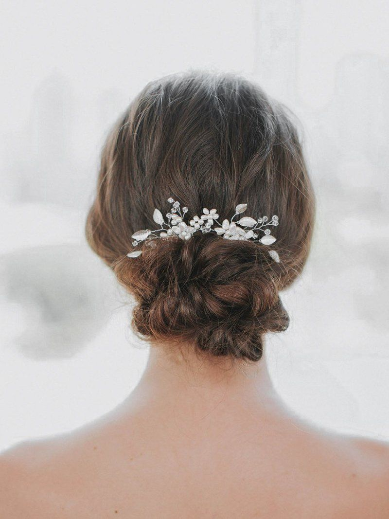 phoebe comb in 2019   the bride   bridal hair pins, wedding