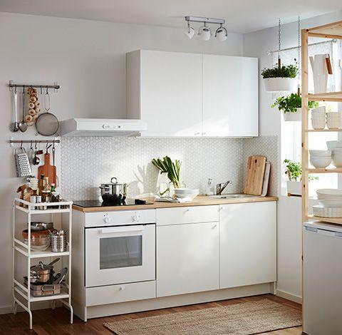 BESTA Kabelöffnung mieszkanie Pinterest Ikea hack, Kitchens - kleine küchenzeile ikea