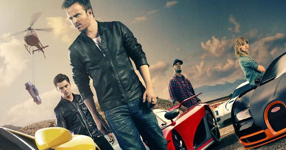 Need For Speed Cast Interviews With Aaron Paul Pelicula Need