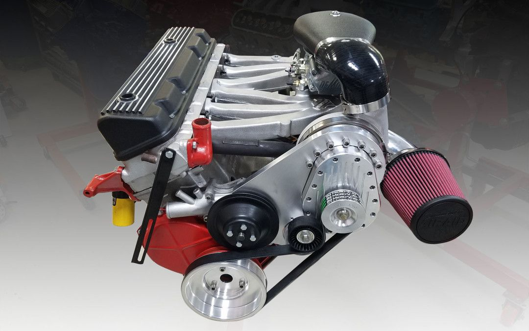 Torqstorm Supercharger with Aussiespeed intake on the venerable