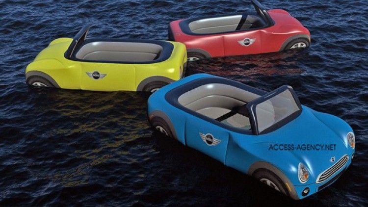 Principalmente gonfiabili Mini Cooper pronti per il servizio di piscina-2514