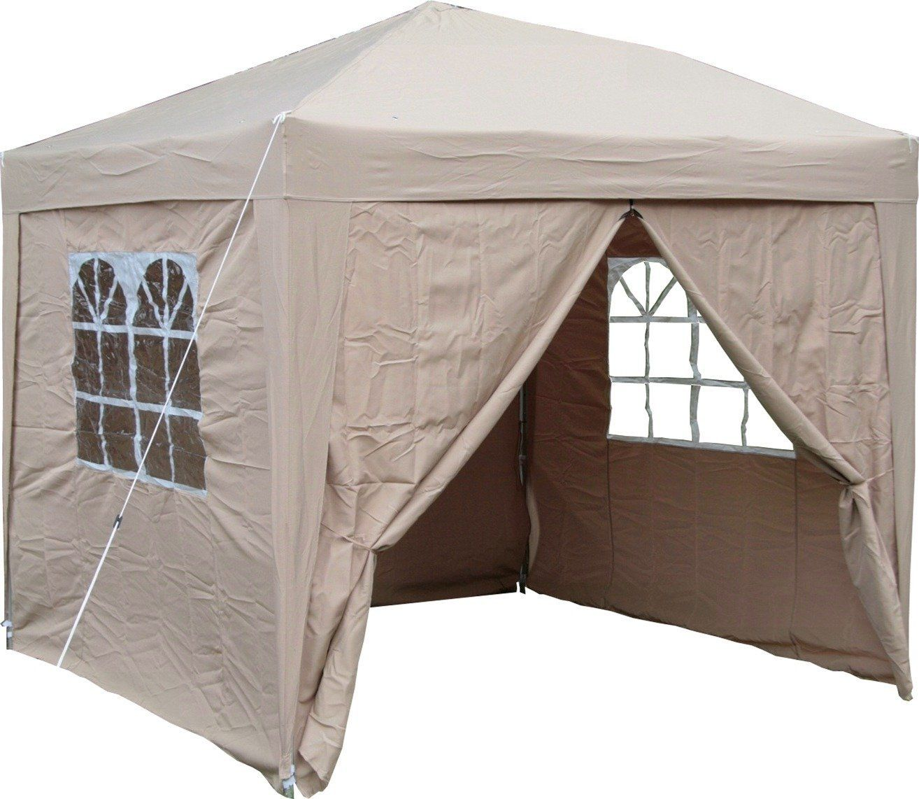 Airwave 2.5x2.5mtr Pop Up Waterproof Gazebo In Beige With